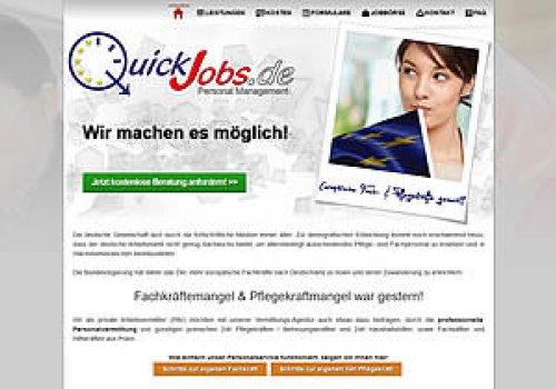 ReLaunch www.QuickJobs.de (2015)